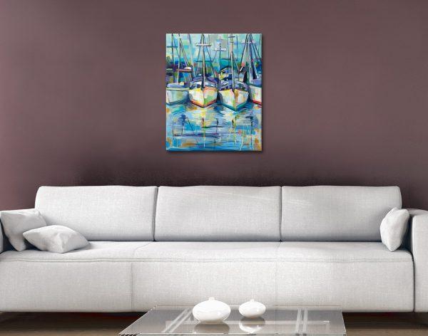 Morning Dock Wall Art Online Gallery Sale