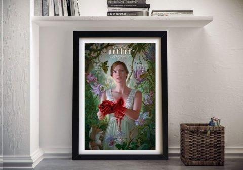 Mother Film Poster Framed Canvas Print
