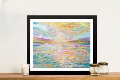 Ocean Sunrise Framed Art Gift Ideas Online