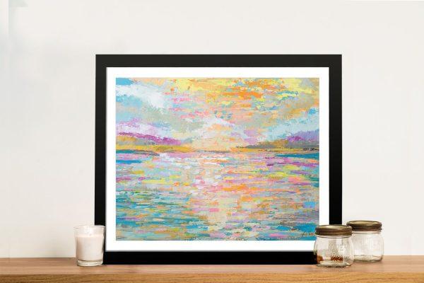 Ocean Sunrise Framed Art Gift Ideas Online