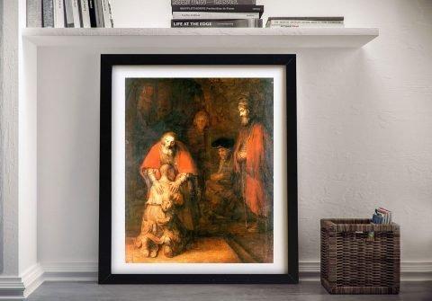 Framed Rembrandt Art Great Gift Ideas Online