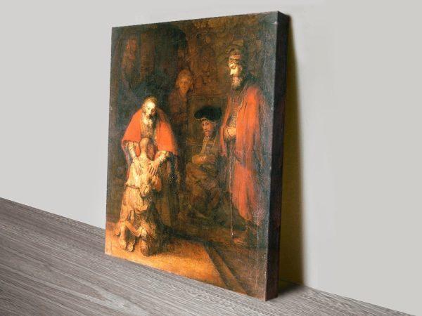 Return of the Prodigal Son Christian Art