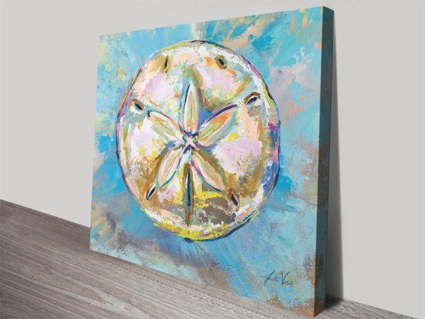 Buy a Sand Dollar Abstract Art Print