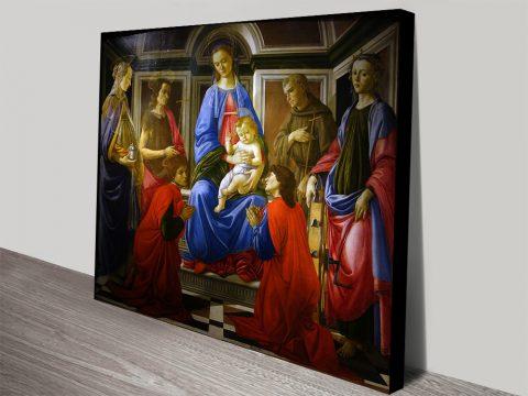 Buy a Botticelli Madonna & Child Art Print