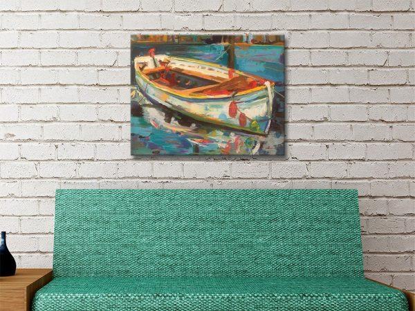 Solo Boat Nautical Art Online Gallery Sale