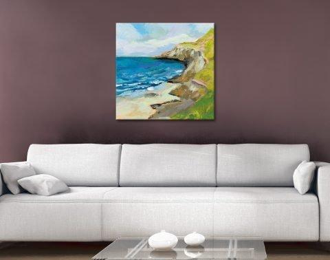 The Bluffs Seascape Art Unique Gift Ideas AU