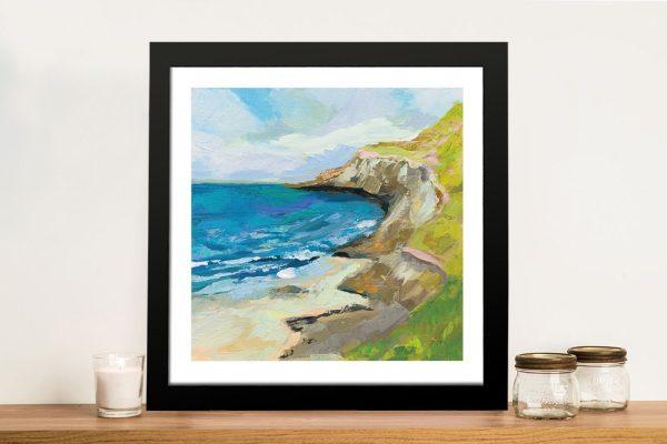 Framed The Bluffs Jeanette Vertentes Art