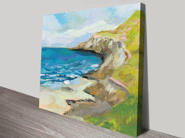 The Bluffs Fine Art Seascape Print