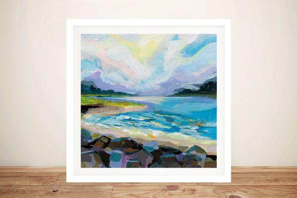 Buy The Coastline Framed Seascape Print