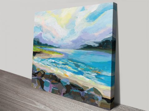 The Coastline Wall Art by Jeanette Vertentes AU
