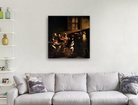 Caravaggio Wall Art Online Gallery Sale