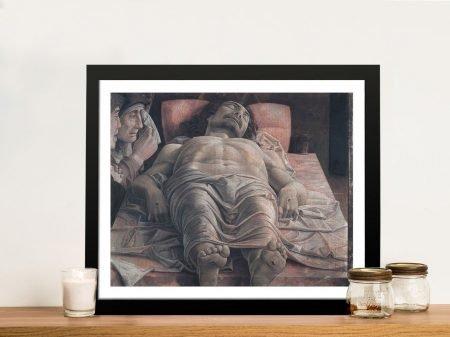 The Dead Christ Andrea Mantegna Art Print