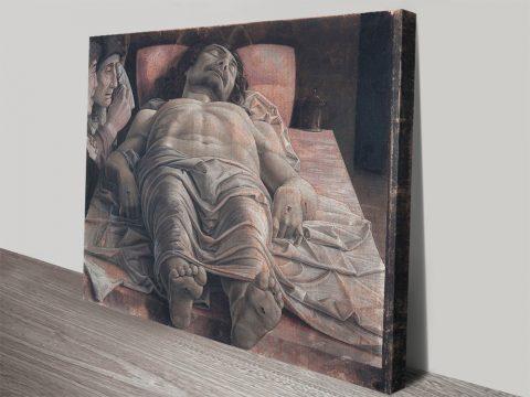 The Dead Christ Italian Renaissance Wall Art