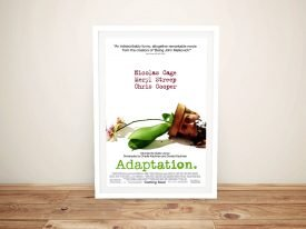 Adaptation Framed Movie Poster Canvas Art