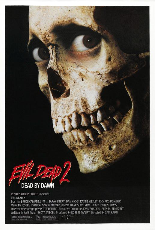 evil dead ii movie poster
