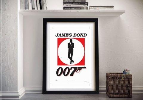 Framed 007 Movie Posters for Sale Online