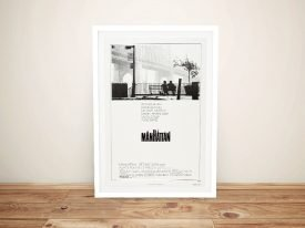 Manhattan Framed Vintage Movie Poster
