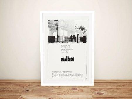 Manhattan Framed Vintage Movie Poster