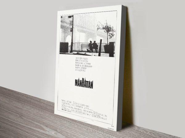 Manhattan Stretched Canvas Film Poster AU