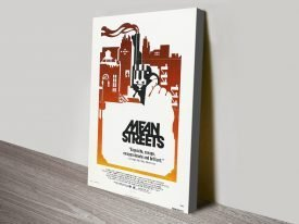 Mean Streets Vintage Movie Poster Artwork