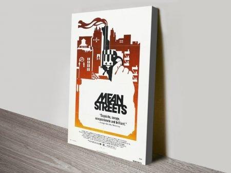 Mean Streets Vintage Movie Poster Artwork