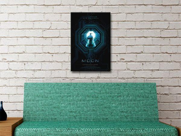 Moon Movie Poster Unique Gift Ideas AU