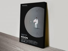 Buy a Moon Movie Poster Canvas Print