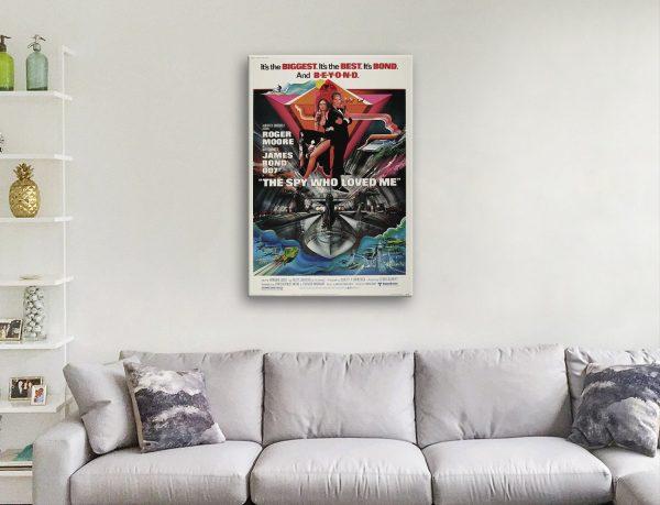 Vintage James Bond Movie Art for Sale AUVintage James Bond Movie Art for Sale AU