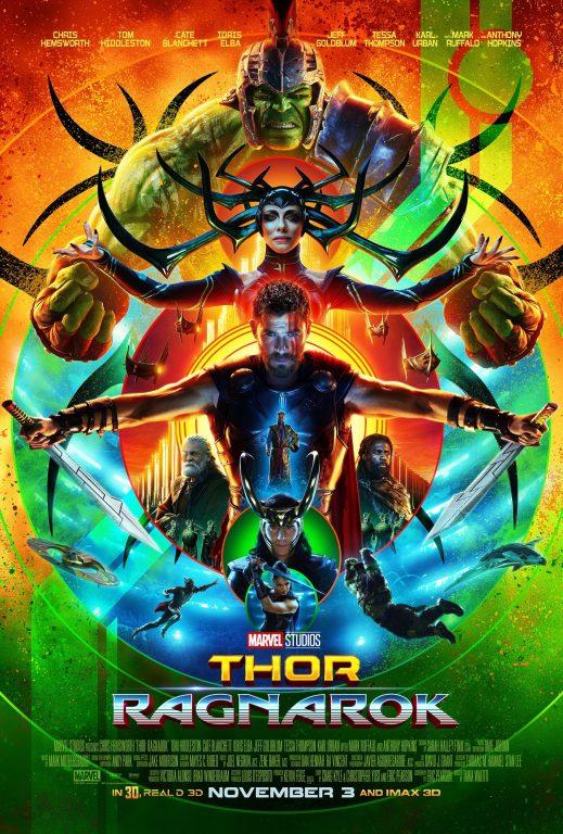 thor ragnarok movie poster