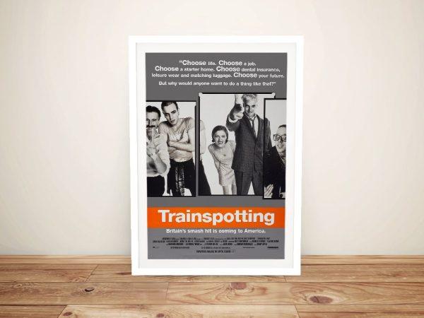 Trainspotting Framed Art Unique Gift Ideas AU