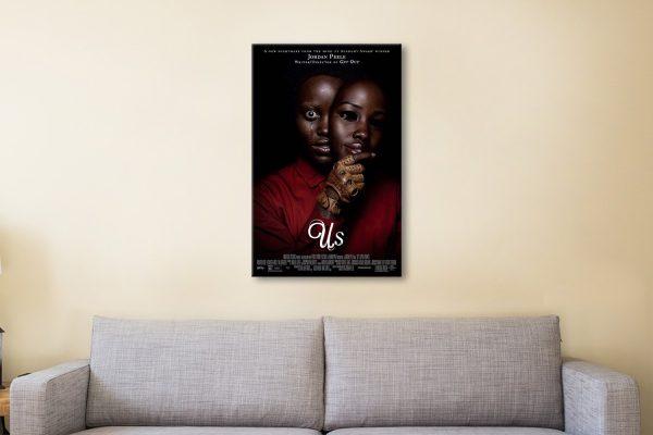 Us Film Poster High-Quality Canvas Art AU