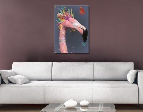 Abstract Flamingo Unique Home Decor AU