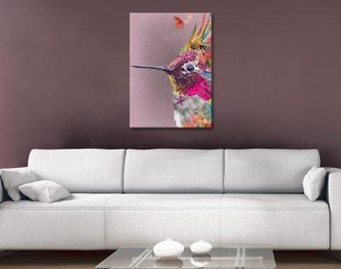 Abstract Hummingbird Art Great Gift Ideas