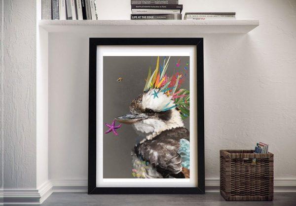 Abstract Kookaburra Art Unique Gift Ideas AU