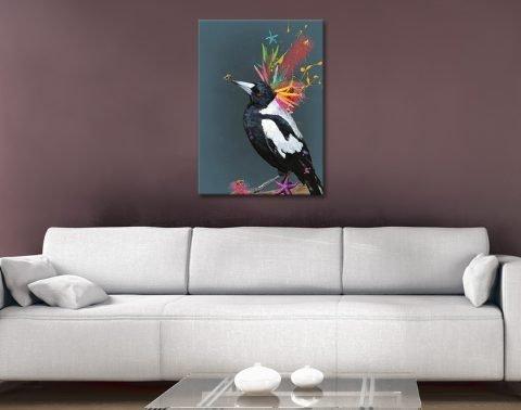 Karin Roberts Abstract Aussie Birds Art Online
