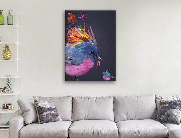Abstract Robins Fun Kids Wall Art Cheap Online
