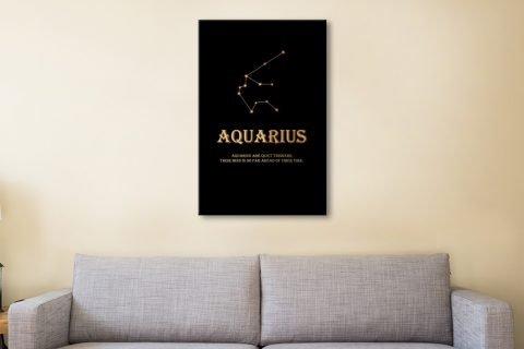 Inspiring Aquarius Star Sign Art Gift Ideas AU