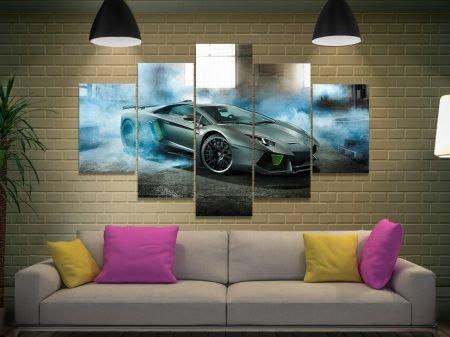Lamborghini 5 Piece Canvas Artwork