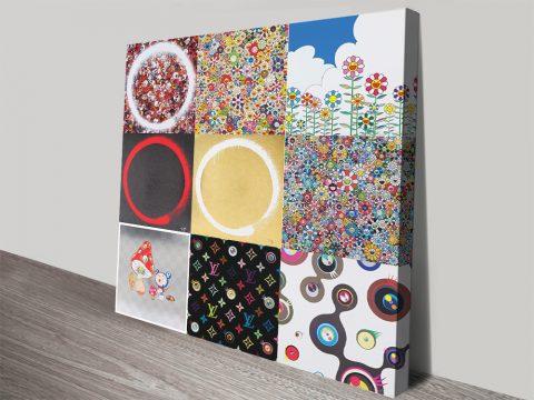 Murakami Collage Wall Art Great Gift Ideas AU