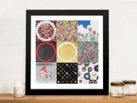 Buy a Framed Murakami Takashi Collage