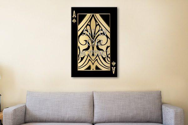 Ready to Hang Ace Art Office Decor Ideas
