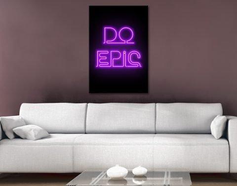 do epic Canvas Artwork