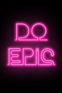 do epic motivational artwork