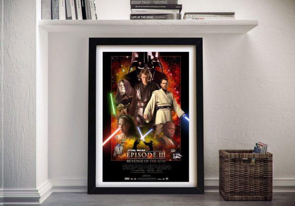 Revenge of the Sith Framed Film Poster