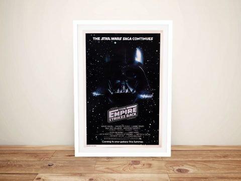Framed Vintage Star Wars Posters for Sale