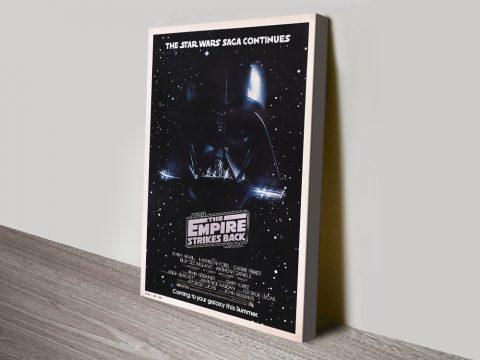 The Empire Strikes Back Retro Poster Art
