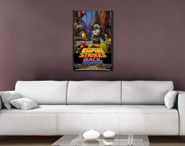 Star Wars Comic Book Advertising Poster
