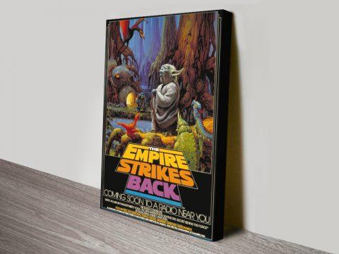 Retro Comic Book Style Star Wars Artwork