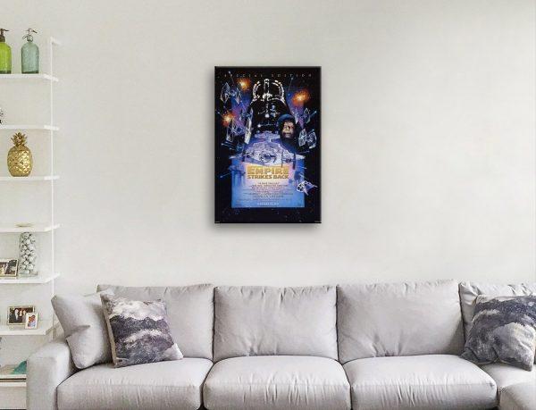 Star Wars Episode V Poster Print AU
