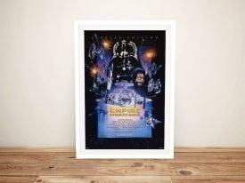 The Empire Strikes Back Framed Wall Art